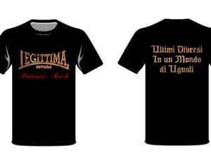 Nuova T-shirt dei Legittima Offesa!