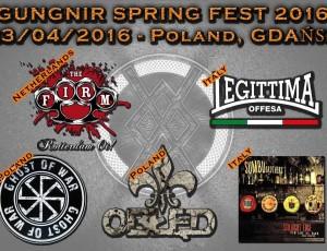 Legittima Offesa in concerto al Gungnir Spring Fest 2016