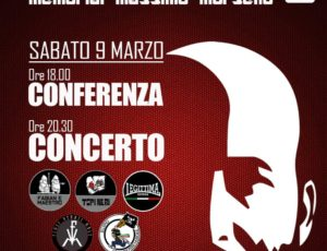 "MMM 2019 ""Memorial Massimo Morsello"""